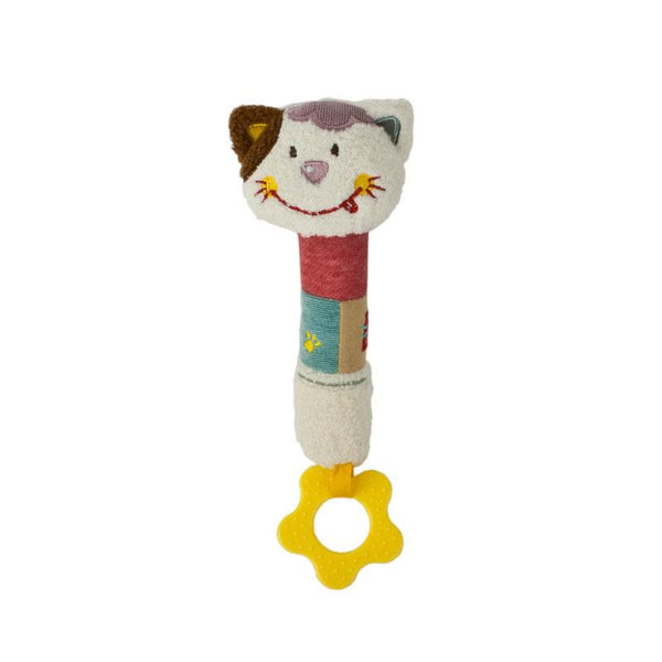 Baby Boo Hand Squeaker - Cat | Koop.co.nz