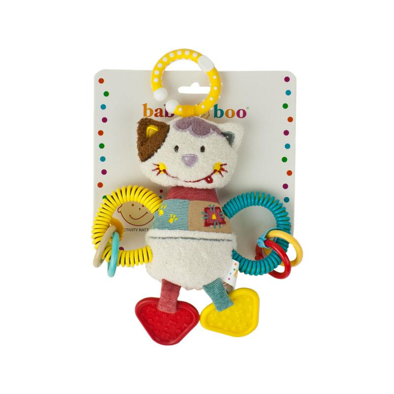 Baby Boo Activity Animal - Cat | Koop.co.nz
