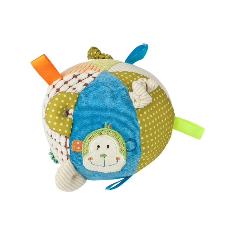 Baby Boo Activity Sensory Ball - Monkey | Koop.co.nz