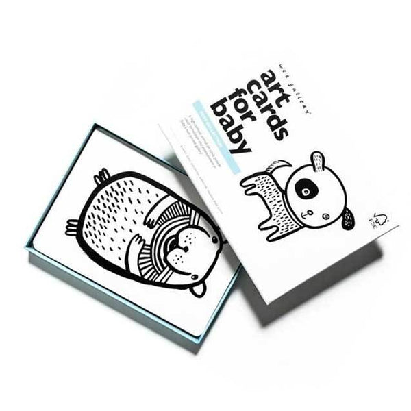 Wee Gallery Art Cards For Baby – Pets | Koop.co.nz