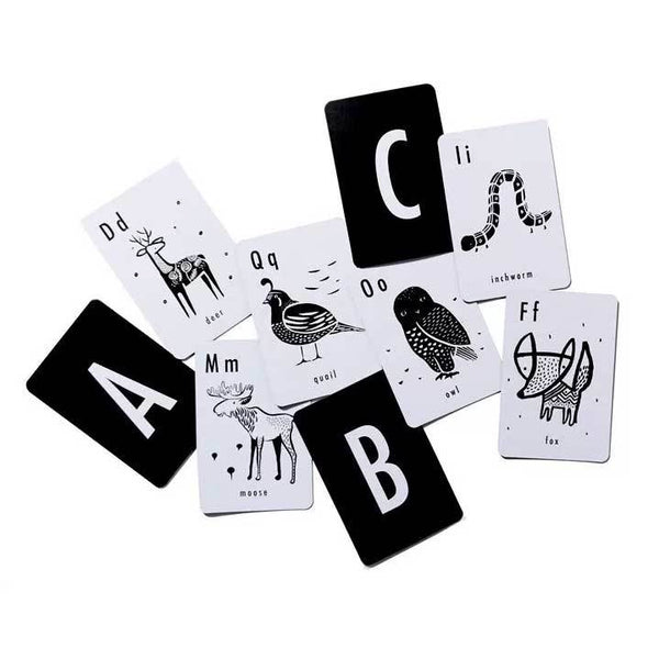 Wee Gallery Animal Alphabet Cards A-Z | Koop.co.nz