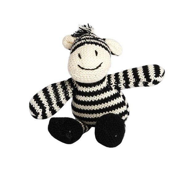 Nana Huchy Zac Zebra Rattle | Koop.co.nz