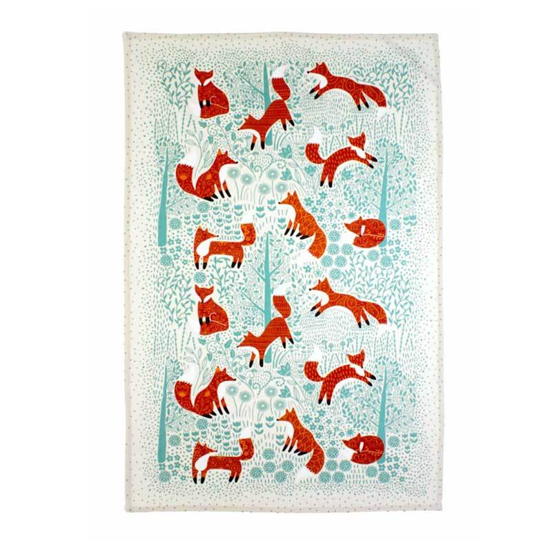 Ulster Weavers Foraging Fox Tea Towel | Koop.co.nz