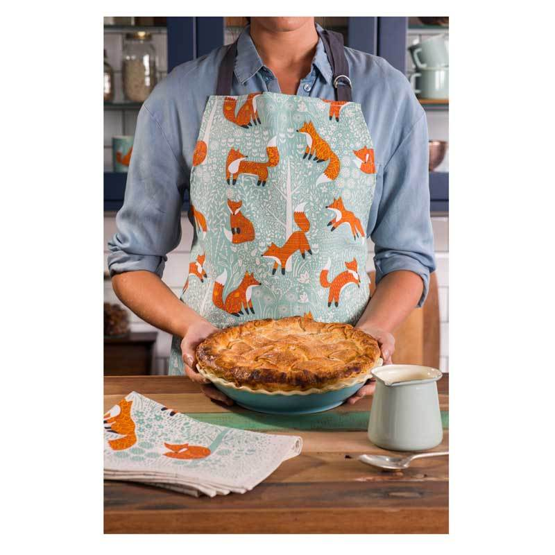 Ulster Weavers Foraging Fox Double Oven Glove | Koop.co.nz
