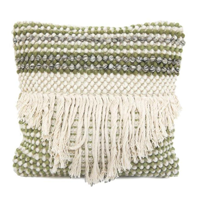 Stoneleigh & Roberson Saar Green Boho Cushion (45cm) | Koop.co.nz