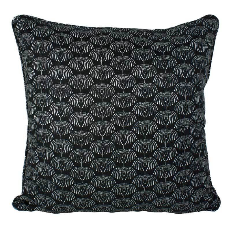 Craft Studio Dew Drops Cushion - Raven (50cm) | Koop.co.nz