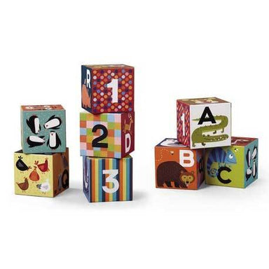 Crocodile Creek Jumbo Blocks Set ABC/123 | Koop.co.nz