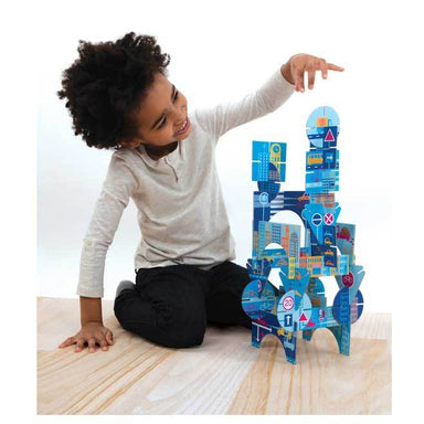 Mudpuppy Glow in the Dark Constructibles – In The City (25pc) | Koop.co.nz