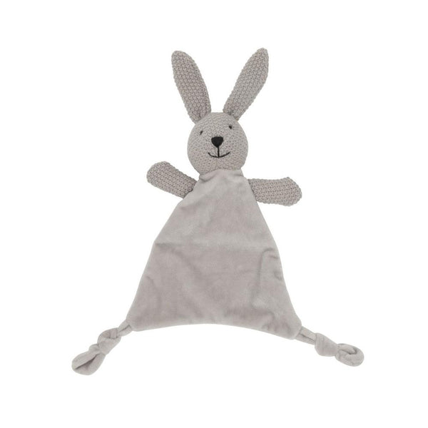 Lily & George Wild Ones Bunny Comforter - Grey | Koop.co.nz