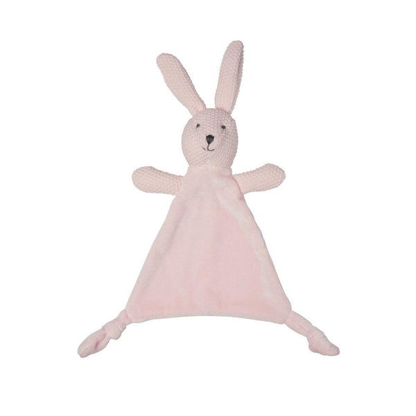 Lily & George Wild Ones Bunny Comforter - Pink | Koop.co.nz