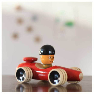 Maya Organic Fair Trade Wooden Vroom Car | Koop.co.nz