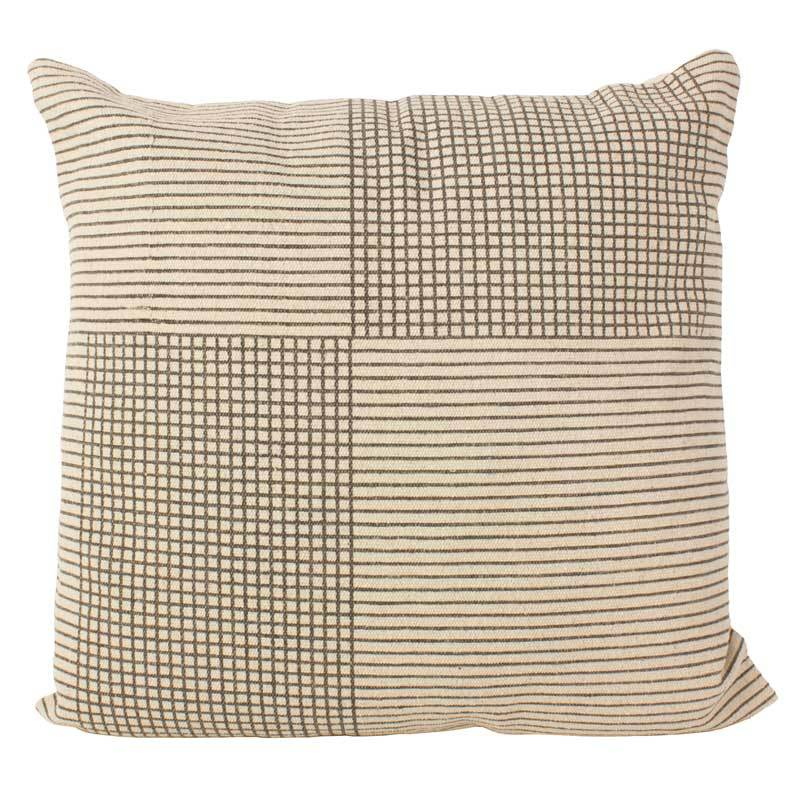 Amalfi Zala Crosshatch Cushion (50cm) | Koop.co.nz