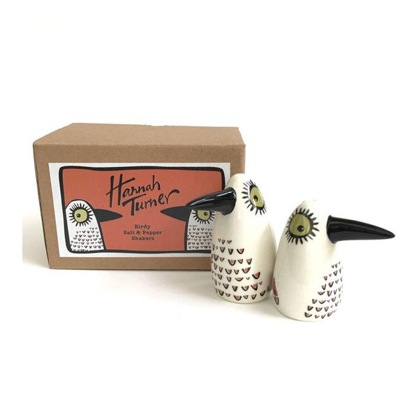 Hannah Turner Handmade Bird Salt & Pepper Shakers | Koop.co.nz