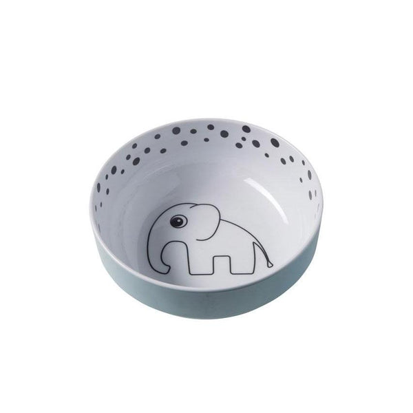 Done By Deer Happy Dots Yummy Bowl – Blue | Koop.co.nz