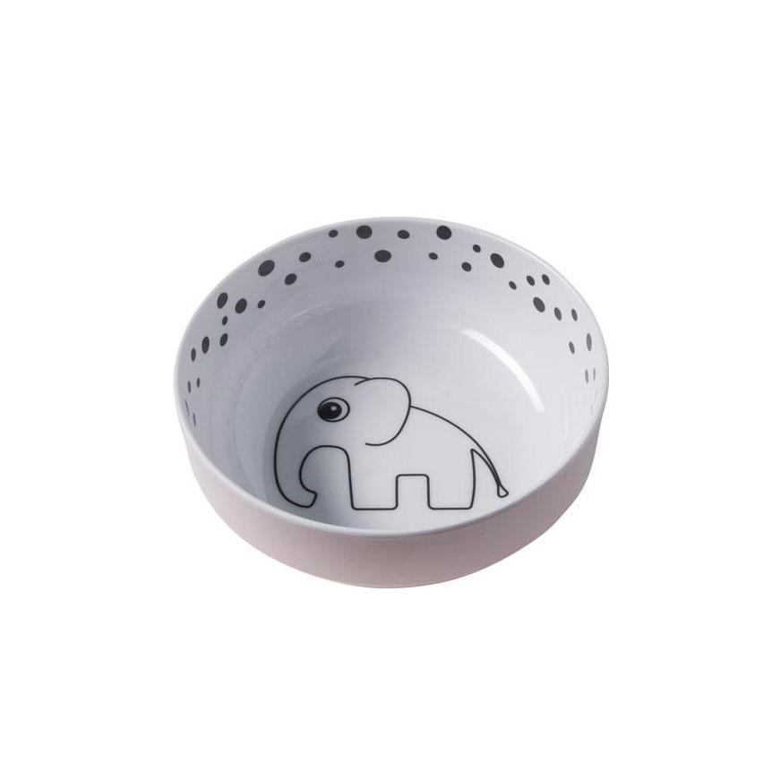 Done By Deer Happy Dots Yummy Bowl – Powder | Koop.co.nz
