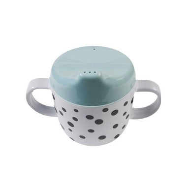Done By Deer Happy Dots Spout Cup - Blue | Koop.co.nz