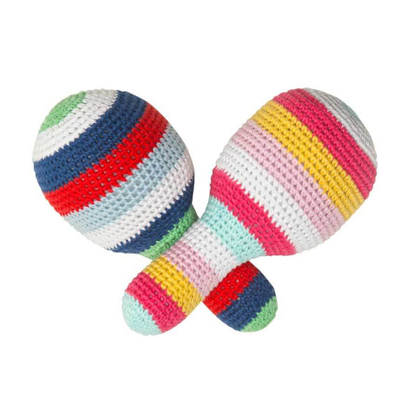 Emotion & Kids Crochet Maraka Rattle | Koop.co.nz