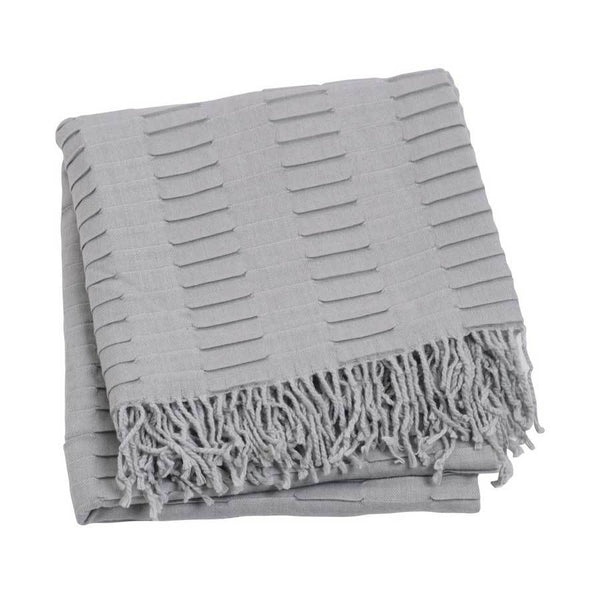 Jason Grey Knit Throw | Koop.co.nz