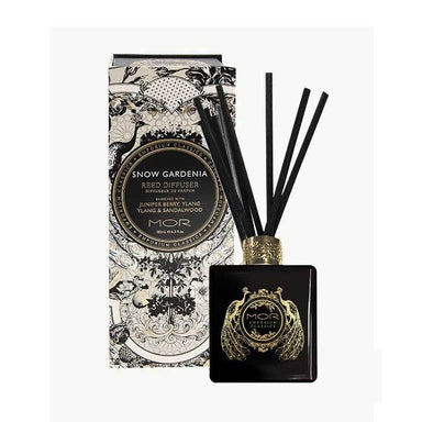 MOR Boutique Emporium Reed Diffuser Set - Snow Gardenia (180ml) | Koop.co.nz
