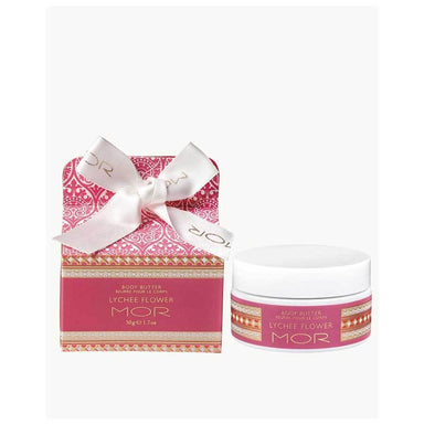 MOR Boutique Little Luxuries Body Butter (50g) – Lychee Flower | Koop.co.nz