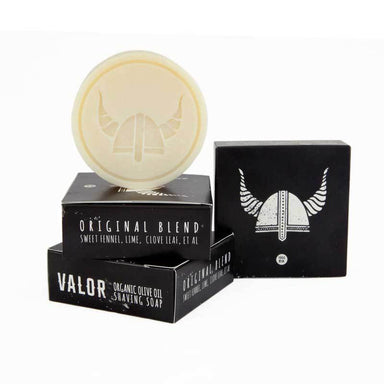 Valor Organic Olive Oil Shaving Soap – Original (100g) | Koop.co.nz