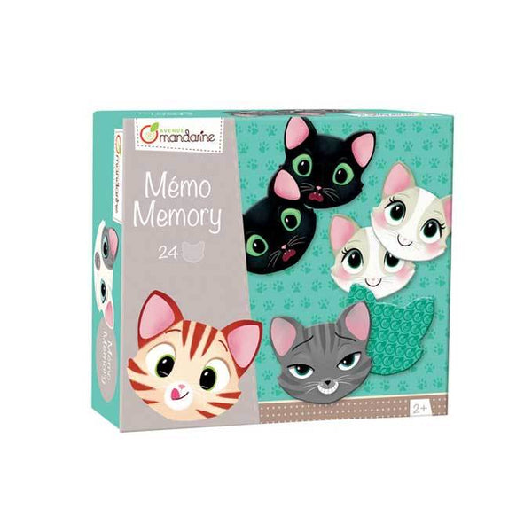 Mandarine Avenue Memory Match Game - Cats | Koop.co.nz