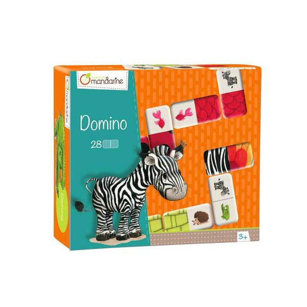 Mandarine Avenue Animal & Texture Dominoes | Koop.co.nz