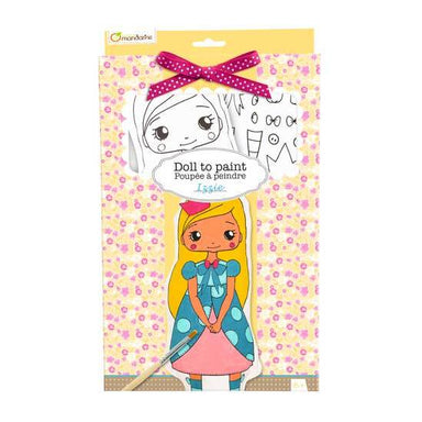 Mandarine Avenue Doll To Paint - Izzie | Koop.co.nz