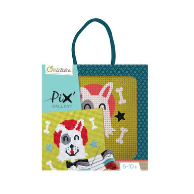 Mandarine Avenue Pix Gallery Cross Stitch – Dog | Koop.co.nz