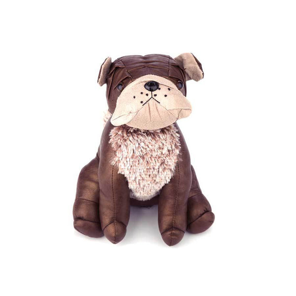 OneWorld Brown Bulldog Doorstop | Koop.co.nz