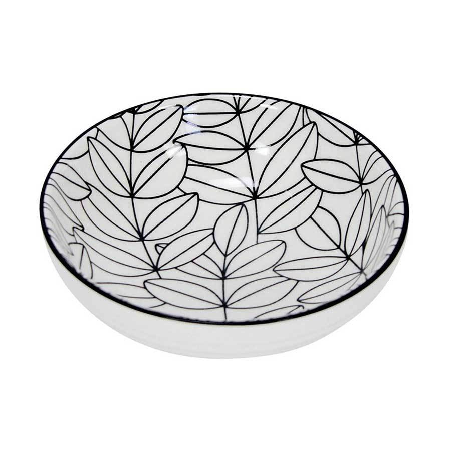 Annabel Trends Outline Leaf Tapa Bowl | Koop.co.nz