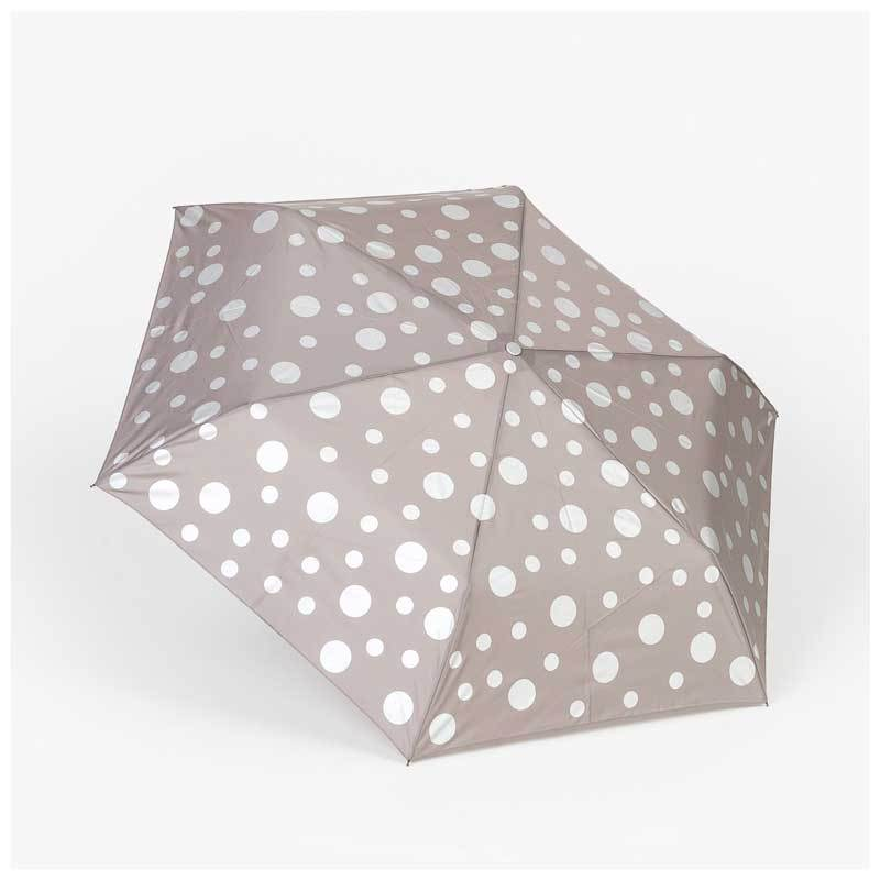 Stella & Gemma Grey & Silver Dot Pocket Umbrella | Koop.co.nz