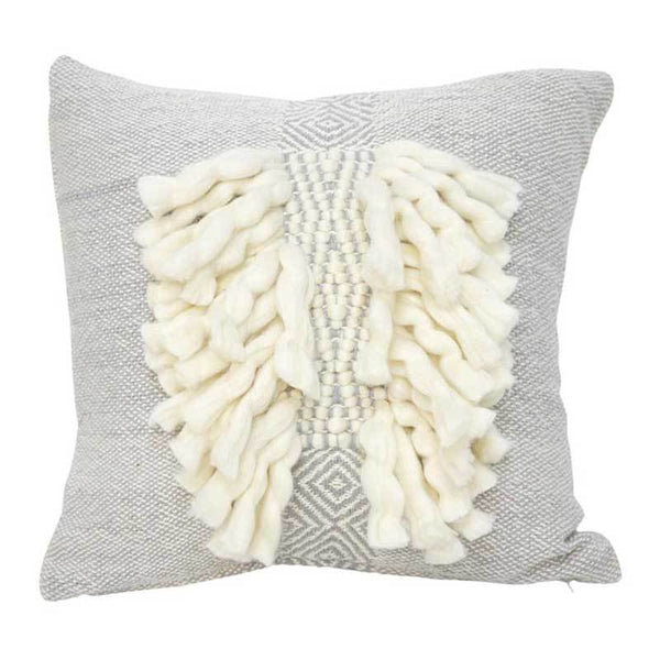 Banyan Home Grey Zara Cushion (45cm) | Koop.co.nz