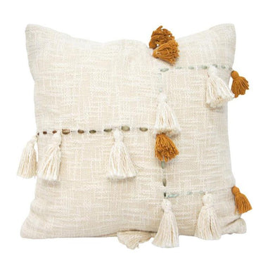 Banyan Home Falan Tassel Cushion (45cm) | Koop.co.nz