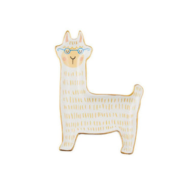 Emporium Larry Llama Trinket Plate | Koop.co.nz