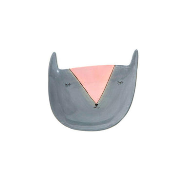 Emporium Critters Trinket Plate – Grey Cat | Koop.co.nz