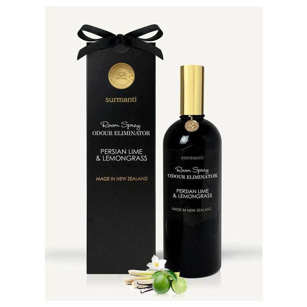 Surmanti Odour Eliminator Room Spray - Persian Lime & Lemongrass | Koop.co.nz