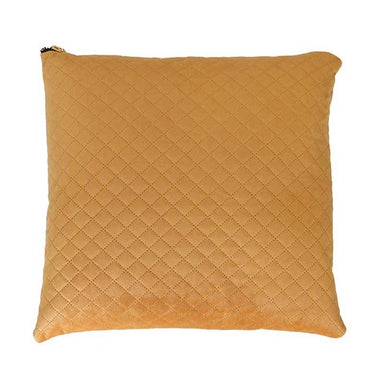 Le Forge Mustard Velvet & Linen Cushion (45cm) | Koop.co.nz