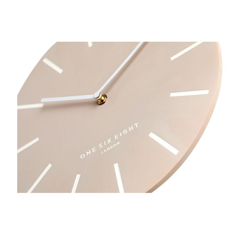 One Six Eight Blush Chloe Clock (30cm) | Koop.co.nz