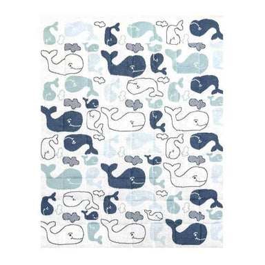 Indus Design Baby Quilt Blanket & Play Mat – Walter Whale | Koop.co.nz