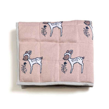 Indus Design Baby Quilt Blanket & Play Mat – Daisy Deer | Koop.co.nz