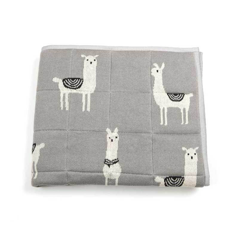 Indus Design Baby Quilt Blanket & Play Mat – Lex Llama | Koop.co.nz