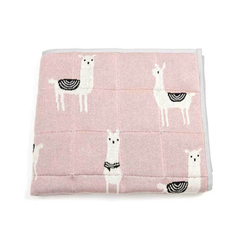 Indus Design Baby Quilt Blanket & Play Mat – Lola Llama | Koop.co.nz
