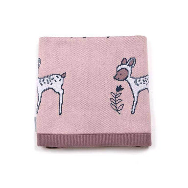 Indus Design Baby Blanket – Daisy Deer | Koop.co.nz