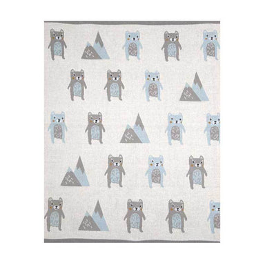 Indus Design Baby Blanket – Barry Bear | Koop.co.nz