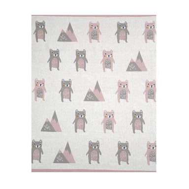 Indus Design Baby Blanket – Beatrice Bear | Koop.co.nz