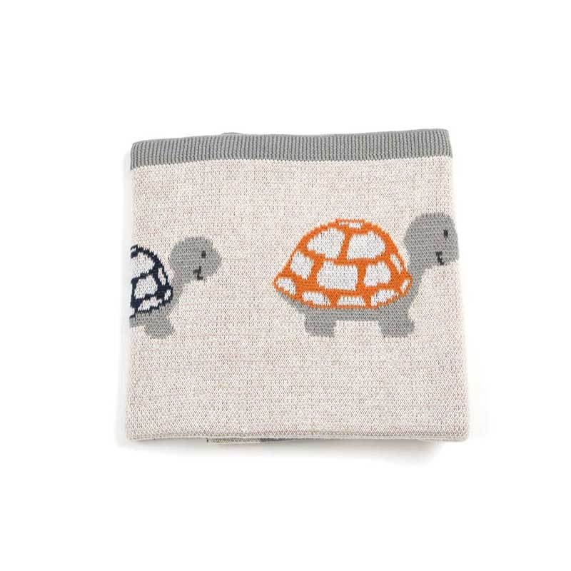 Indus Design Baby Blanket – Tully Turtle | Koop.co.nz