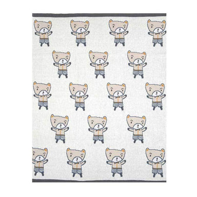 Indus Design Baby Blanket – Charlie Boy | Koop.co.nz