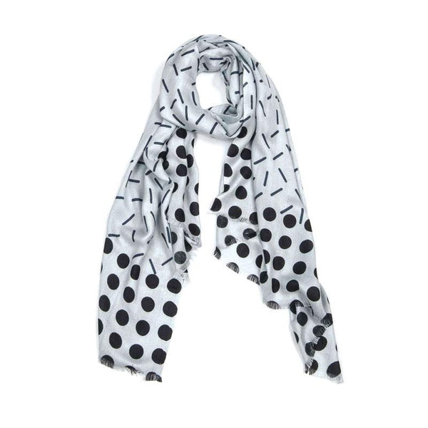 Indus Design Stem Scarf - Ice & Lead | Koop.co.nz