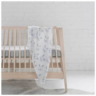 Mister Fly Bunny Muslin Wrap | Koop.co.nz